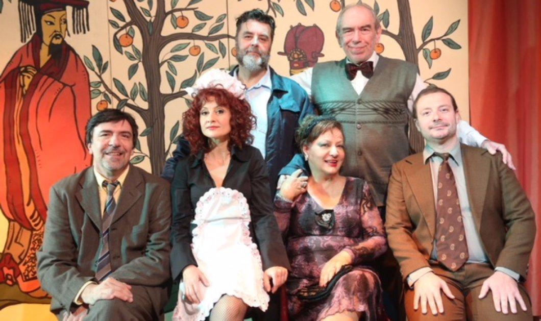 Το Δωμάτιο με τους Μανδαρίνους του Ρ. Τομά στο θέατρο Πρόβα - Κυρίως Φωτογραφία - Gallery - Video