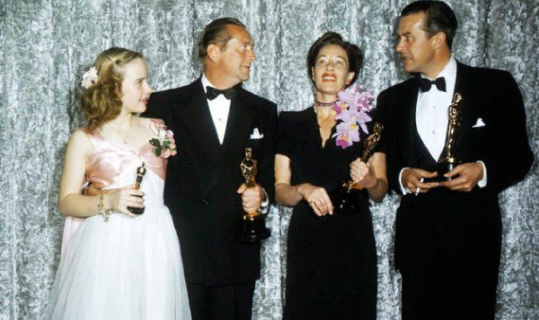 Vintage Όσκαρ κλικς: 90 χρόνια από την πρώτη λαμπερή τελετή απονομής των κορυφαίων βραβείων (ΦΩΤΟ) - Κυρίως Φωτογραφία - Gallery - Video