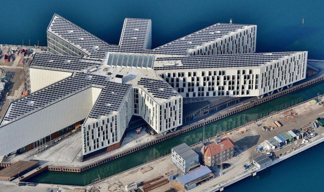 Φαντασμαγορικές φωτογραφίες από το κτήριο του ΟΗΕ στην Κοπεγχάγη - Είναι φτιαγμένο από γυαλί και μέταλλο    - Κυρίως Φωτογραφία - Gallery - Video