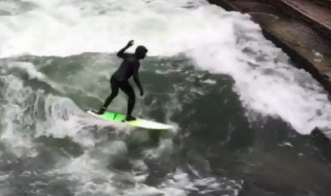 Απίστευτο βίντεο: Κάτοικοι της Γερμανίας κάνουν surfing στο κέντρο του Μονάχου! (ΦΩΤΟ - ΒΙΝΤΕΟ) - Κυρίως Φωτογραφία - Gallery - Video