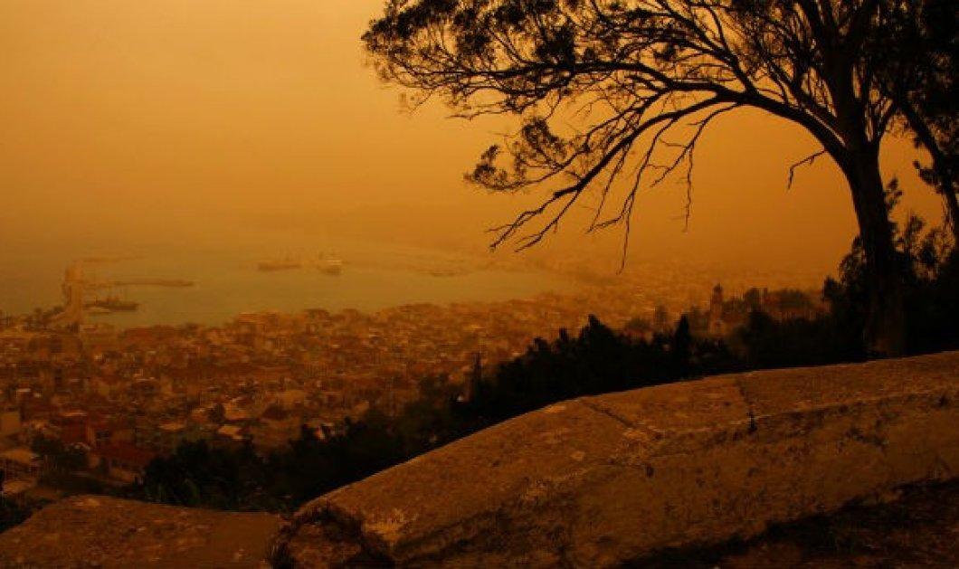 Γιατί η αφρικανική σκόνη είναι επικίνδυνη για την υγεία;  - Κυρίως Φωτογραφία - Gallery - Video