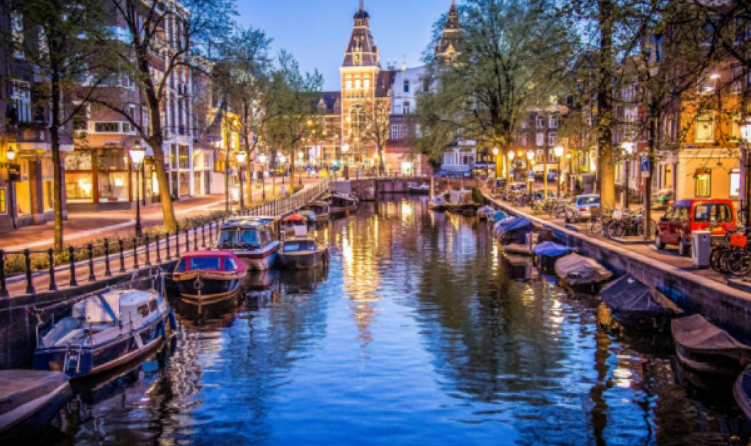 Πολύχρωμο day 'n' night το Άμστερνταμ... Ας ταξιδέψουμε στηνπρωτεύουσα της Ολλανδίας μέσα από ένα timelapse βίντεο! - Κυρίως Φωτογραφία - Gallery - Video
