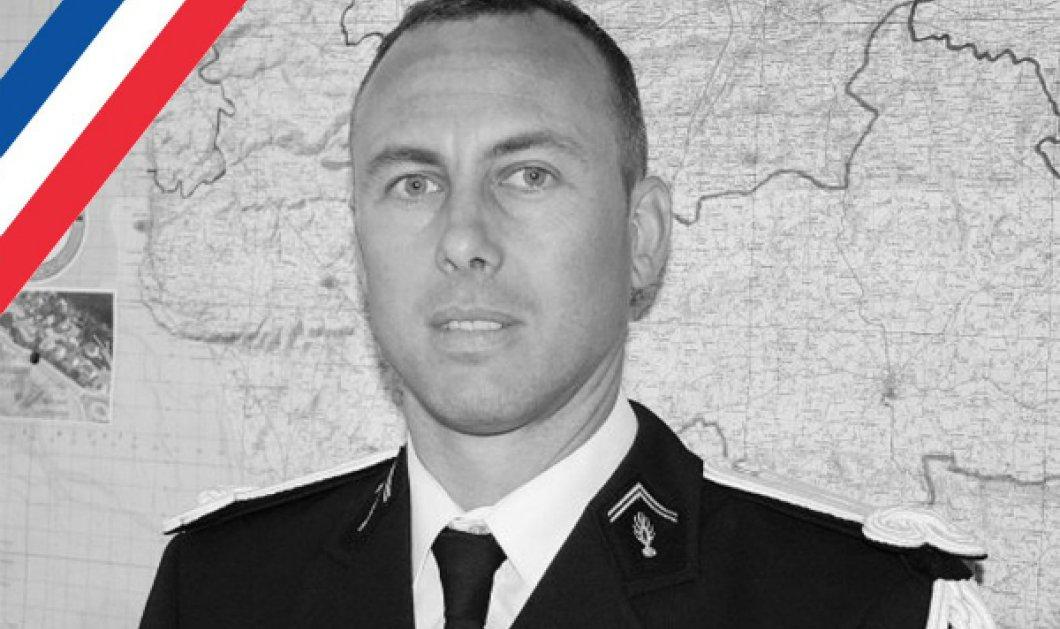 Παγκόσμια συγκίνηση για τον αστυνομικό που τελικά πέθανε αφοί πήρε τη θέση των ομήρων στην τρομοκρατική επίθεση της Γαλλίας - Κυρίως Φωτογραφία - Gallery - Video