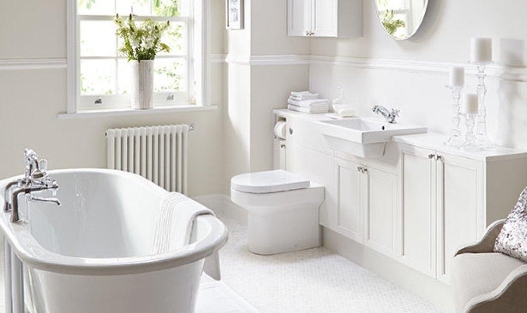 Θέλετε το μπάνιο σας να δείχνει πάντα καθαρό; Ο Σπύρος Σούλης σας προτείνει τα 9 χρώματα που θα σας βοηθήσουν να το πετύχετε  - Κυρίως Φωτογραφία - Gallery - Video