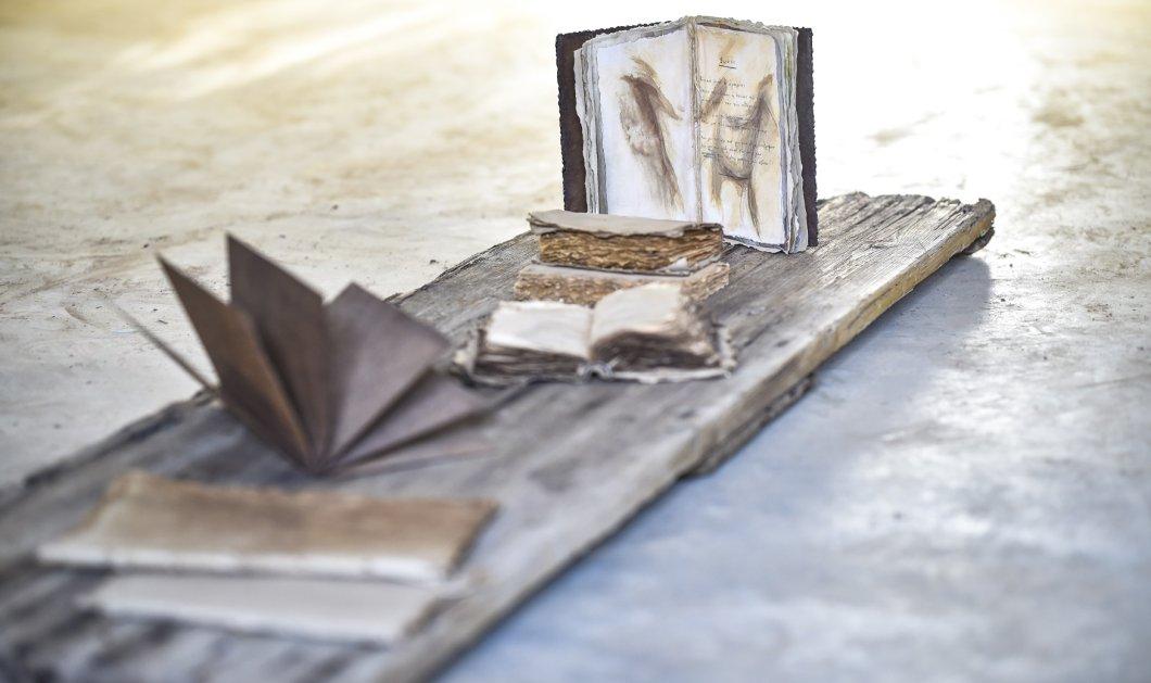 «Έργα πέρα από τις γραφές του Καβάφη» - Η Γεννάδειος βιβλιοθήκη εγκαινιάζει τη νέα της πτέρυγα με μια έκθεση της Αλεξάνδρας Αθανασιάδη (ΦΩΤΟ) - Κυρίως Φωτογραφία - Gallery - Video
