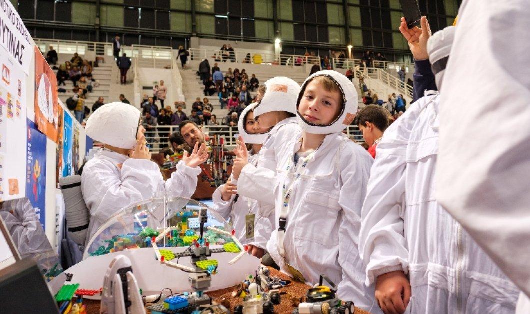 Τα παιδιά σχεδιάζουν έναν καλύτερο κόσμο: 3.500 συμμετοχές στον Πανελλήνιο Διαγωνισμό Εκπαιδευτικής Ρομποτικής 2018 - Κυρίως Φωτογραφία - Gallery - Video