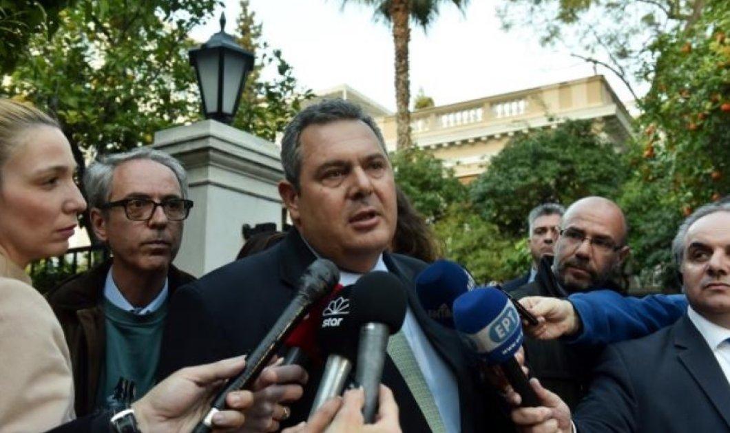 Π. Καμμένος: Η συνεργασία με τον ΣΥΡΙΖΑ θα συνεχιστεί μέχρι τέλους - Κυρίως Φωτογραφία - Gallery - Video