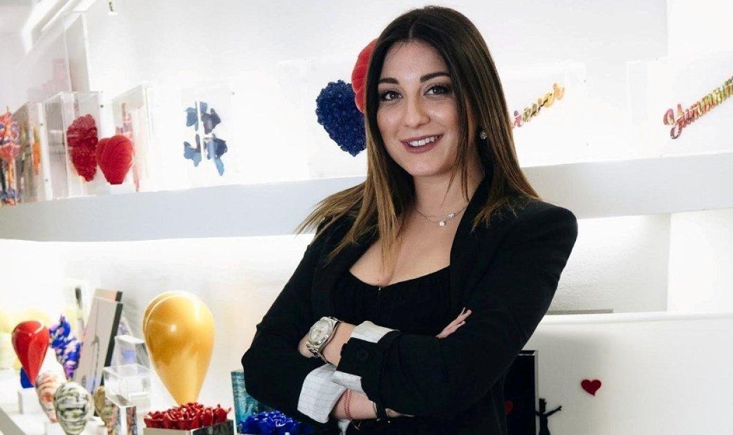 """Αποκλ.: Νίκη Καποπούλου : Η Top young lady δημιούργησε το  """"The Art Dose"""" & βάζει την ελληνική τέχνη στο γάμο , την βάφτιση ή την στέλνει στο εξωτερικό (ΦΩΤΟ) - Κυρίως Φωτογραφία - Gallery - Video"""