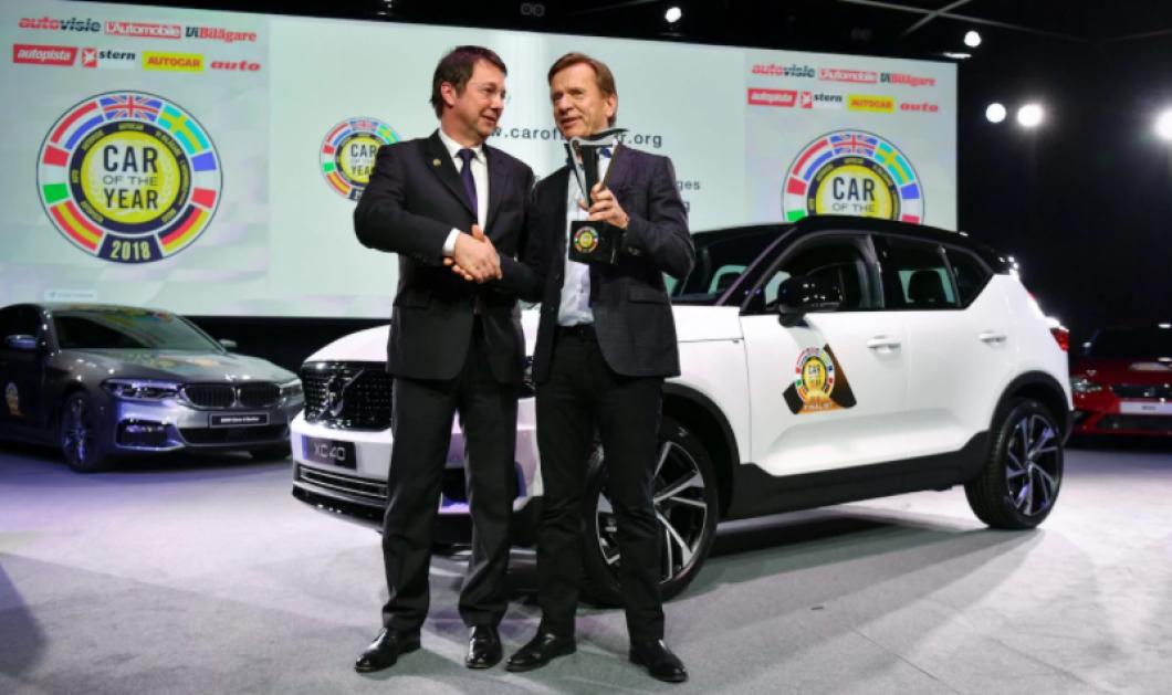 """Το βραβείο """"Αυτοκίνητο της Χρονιάς 2018 στην Ευρώπη"""" κέρδισε το Volvo XC40 (ΦΩΤΟ) - Κυρίως Φωτογραφία - Gallery - Video"""
