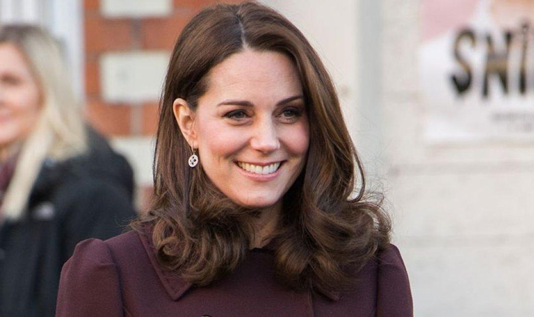 Φοράει ψηλά τακούνια- γόβες στιλέτο η έγκυος Kate Middleton ακόμη και στην τελευταία εμφάνισή της πριν τη γέννα (ΦΩΤΟ) - Κυρίως Φωτογραφία - Gallery - Video