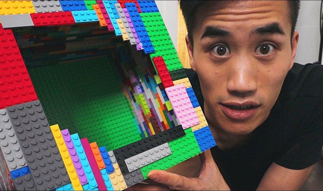Νεαρός παίζει μουσική με όργανα φτιαγμένα εξ ολοκλήρου από τουβλάκια lego (ΒΙΝΤΕΟ) - Κυρίως Φωτογραφία - Gallery - Video