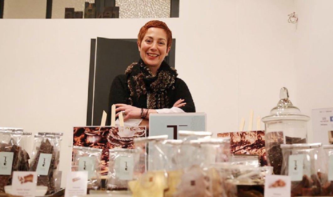 Αποκλ.: Μίνα Αποστολίδη: Η Ελληνίδα «βασίλισσα» της σοκολάτας που κατέκτησε Βέλγιο και Ιαπωνία γιατί οι σοκολάτες της κάνουν «την γλώσσα μας να γελάει» μιλά στο Made in Greece news (ΦΩΤΟ) - Κυρίως Φωτογραφία - Gallery - Video