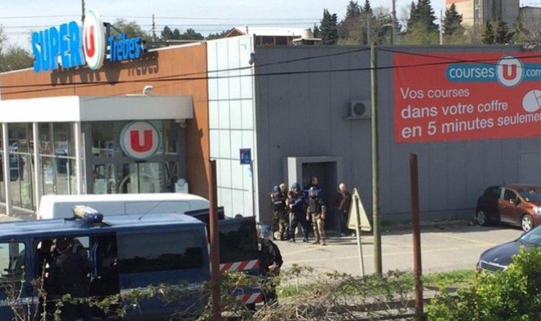 Τζιχαντιστής εισέβαλε σε σούπερ μάρκετ στη Νότια Γαλλία- Δύο νεκροί - Κυρίως Φωτογραφία - Gallery - Video