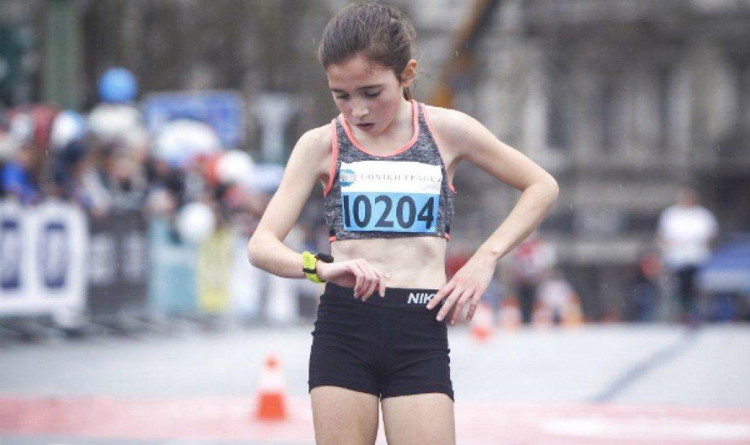 Μίνι Topwoman - μεγάλη αθλήτρια στα 12! Η Γλυκερία που τερμάτισε τρίτη στα 5 χλμ (ΦΩΤΟ - ΒΙΝΤΕΟ) - Κυρίως Φωτογραφία - Gallery - Video