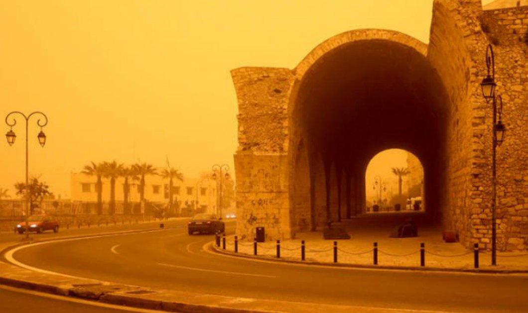 Μοναδική πρωταγωνίστρια η σκόνη στο σημερινό καιρικό μενού - Μέχρι 18 βαθμούς το θερμόμετρο στην Αθήνα - Κυρίως Φωτογραφία - Gallery - Video