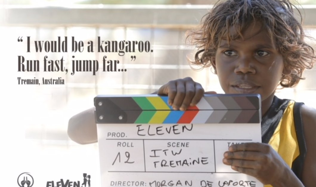 Αποκλ.: O Κυριάκος Κυριακόπουλος- Η «Eleven Campaign» - o «Made in Greece» οργανισμόs ενώνει τα παιδιά όλου του κόσμου μέσα από το ποδόσφαιρο (ΦΩΤΟ-ΒΙΝΤΕΟ) - Κυρίως Φωτογραφία - Gallery - Video