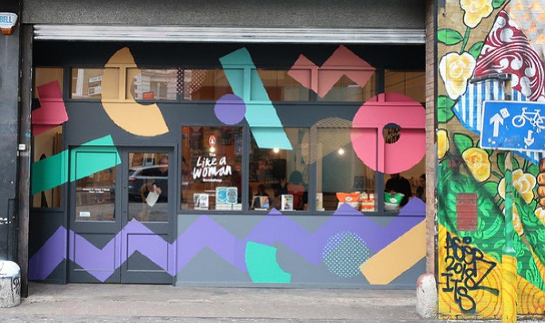 Like a woman βιβλιοπωλείο! Είναι pop up, πολύχρωμο & υμνεί τις γυναίκες συγγραφείς (ΦΩΤΟ - BINTEO) - Κυρίως Φωτογραφία - Gallery - Video