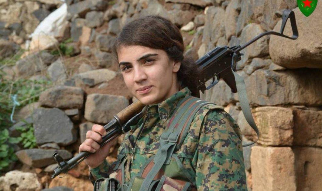 YPJ: O «πρώτος γυναικείος στρατός»- Νεαρές με αυτόματα όπλα ζητουν ελευθερία- Συγκλονιστικές φωτο- βίντεο - Κυρίως Φωτογραφία - Gallery - Video