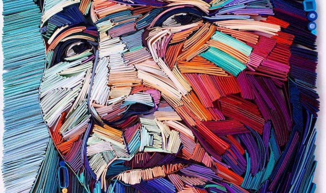 Πρωτοποριακά έργα τέχνης από χαρτί - Γεμάτα ένταση και χρώματα που θα σας καταπλήξουν! (ΦΩΤΟ - ΒΙΝΤΕΟ)  - Κυρίως Φωτογραφία - Gallery - Video