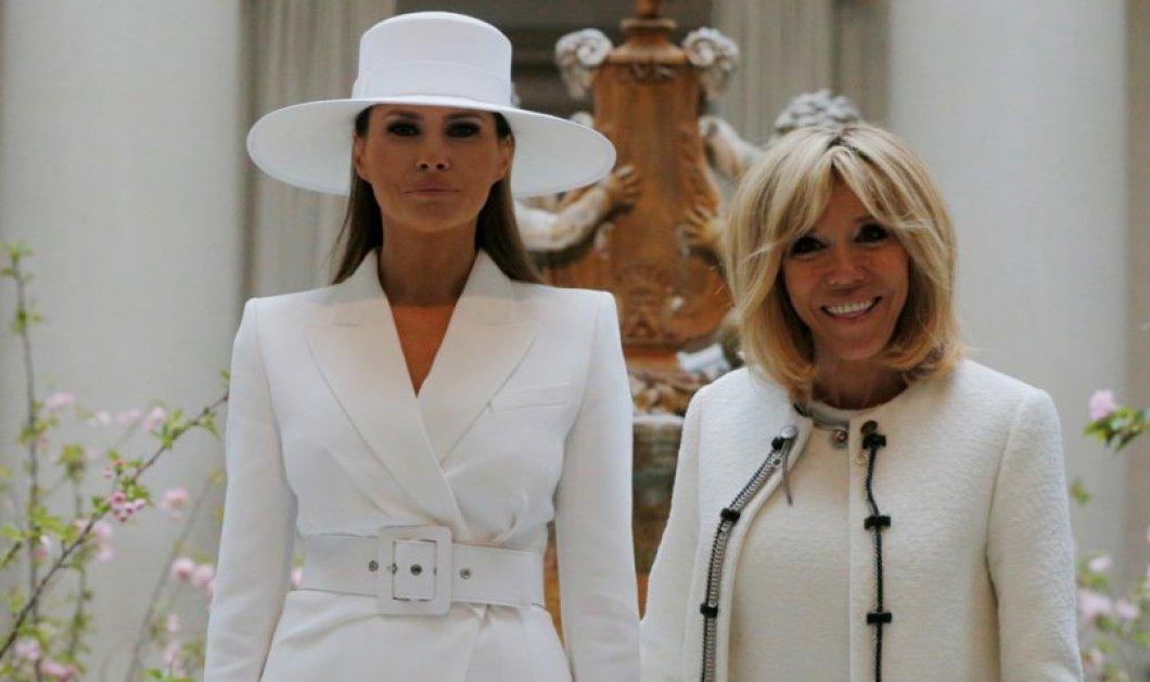 Λευκές οπτασίες Μελάνια & Μπριζίτ- Τα τουρλωτά οπίσθια της Αμερικάνας Κυρίας- Γόβα στιλέτο Louboutin σικ η Γαλλίδα (ΦΩΤΟ) - Κυρίως Φωτογραφία - Gallery - Video