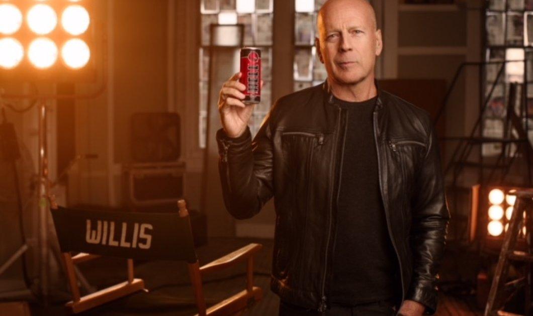 Ο Bruce Willis θα είναι το πρόσωπο της Hell Energy - Κυρίως Φωτογραφία - Gallery - Video