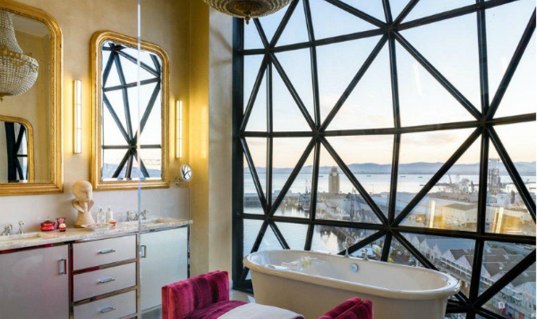Ας επισκεφθούμε τα πιο εντυπωσιακά μπάνια ξενοδοχείων σε όλο τον κόσμο (ΦΩΤΟ) - Κυρίως Φωτογραφία - Gallery - Video