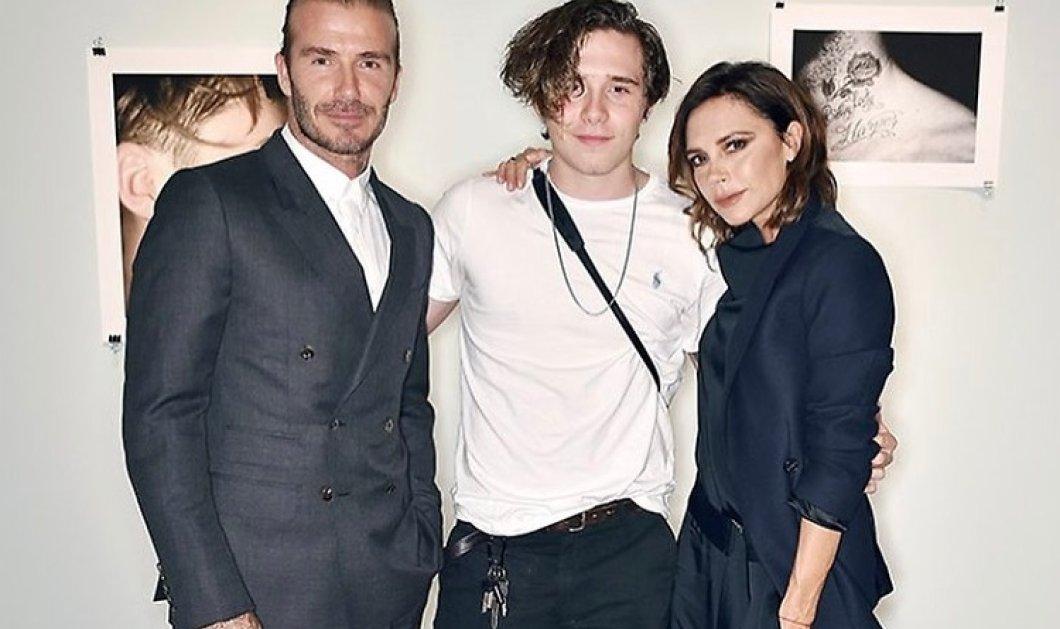 """Brooklyn Beckham: """"Έλιωσε"""" το instagram με την τρυφερή φωτογραφία από τον γάμο των γονιών του- Δείτε τον μωρό μαζί με τον πατέρα του - Κυρίως Φωτογραφία - Gallery - Video"""