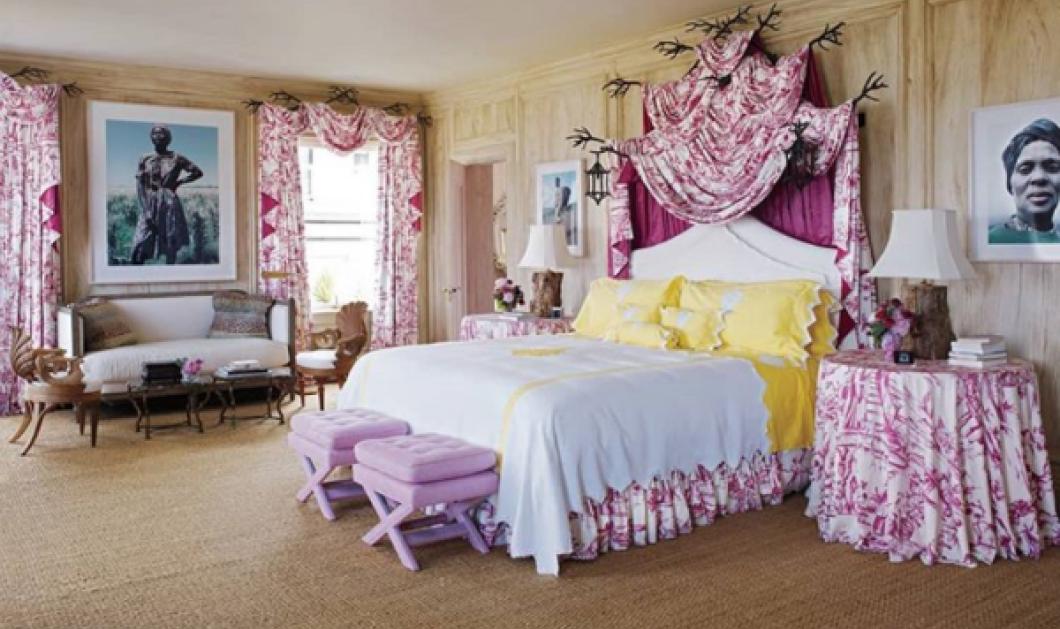 Κρεβατοκάμαρες με γούστο & χρώμα - Φανταστικές επιλογές με γαλλική φινέτσα (ΦΩΤΟ) - Κυρίως Φωτογραφία - Gallery - Video