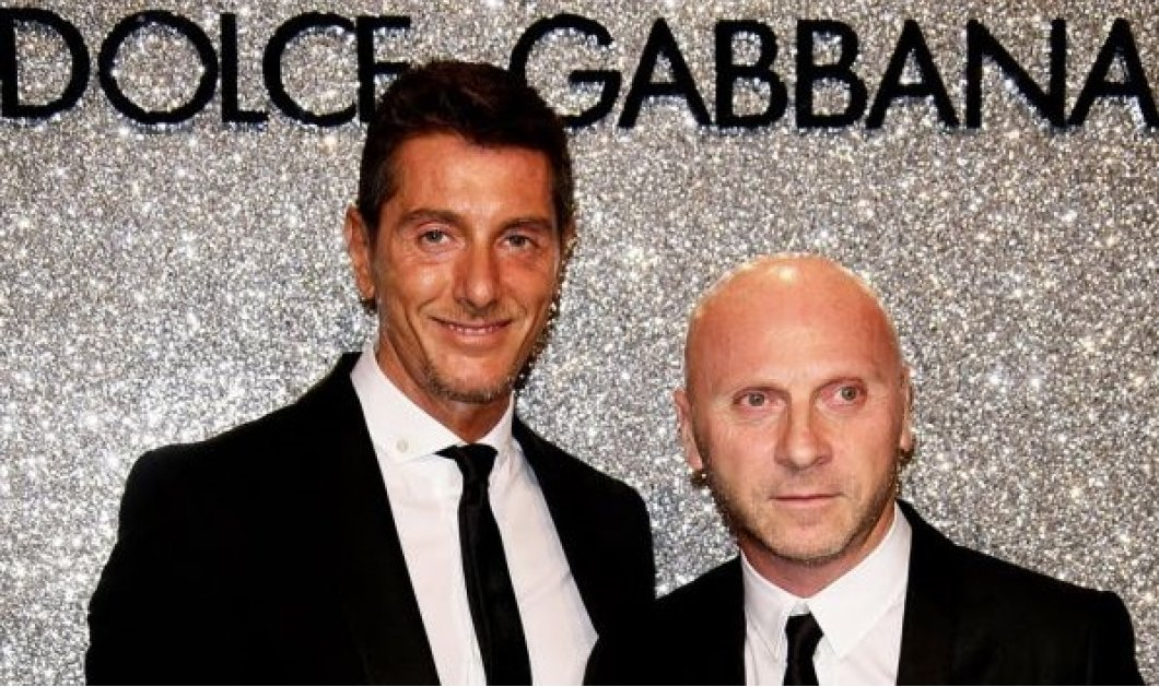 Το Dolce & Gabbana θα πεθάνει όταν φύγουμε- Δεν θέλουμε ένας Ιάπωνας να σχεδιάζει με το όνομά μας - Κυρίως Φωτογραφία - Gallery - Video