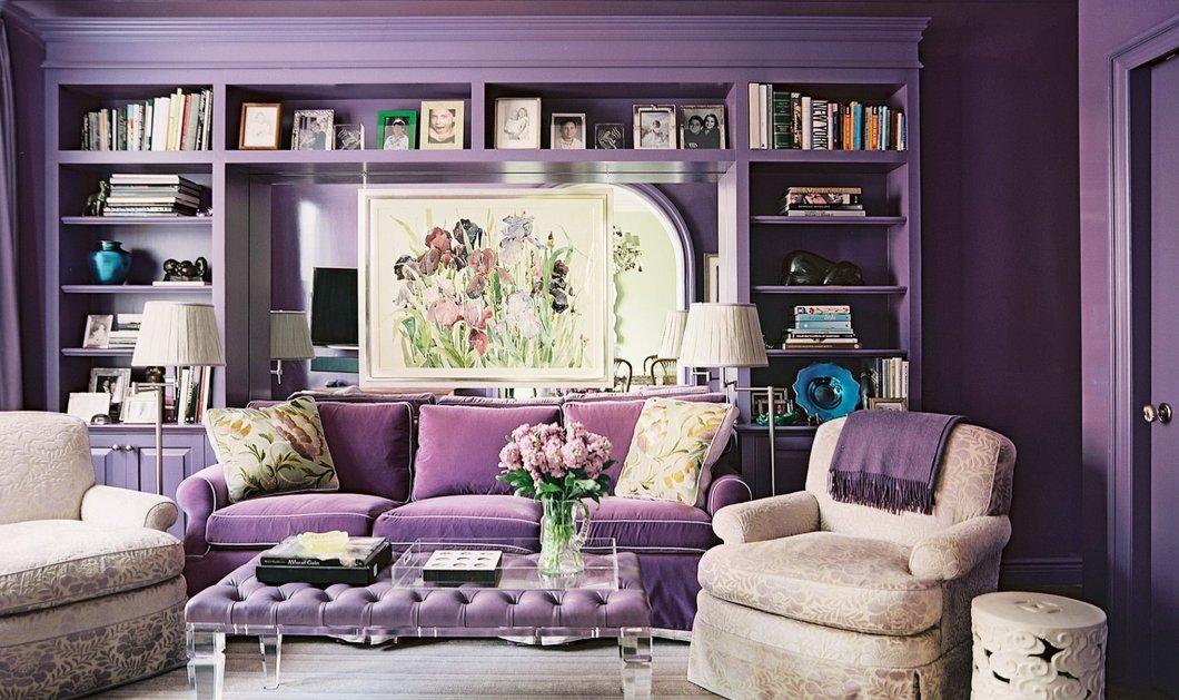 Σπύρος Σούλης: 7 υπέροχοι τρόποι για να διακοσμήσετε το σπίτι σας με το χρώμα της Χρονιάς - Όλα μωβ!  - Κυρίως Φωτογραφία - Gallery - Video