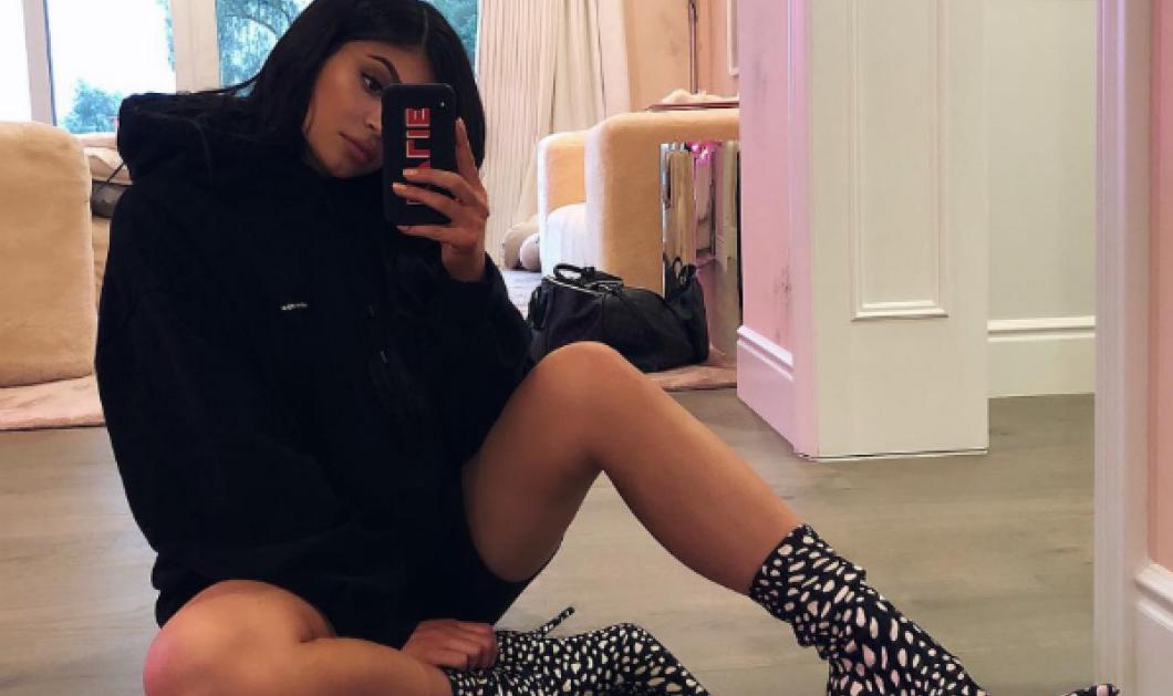 """To """"αγγελάκι"""" Kylie Jenner μας στέλνει... φιλάκια & βροχή τα likes - Ιδού πως ξεπέρασε τα 3 εκατ. η μελαχρινή κουκλίτσα (ΒΙΝΤΕΟ) - Κυρίως Φωτογραφία - Gallery - Video"""