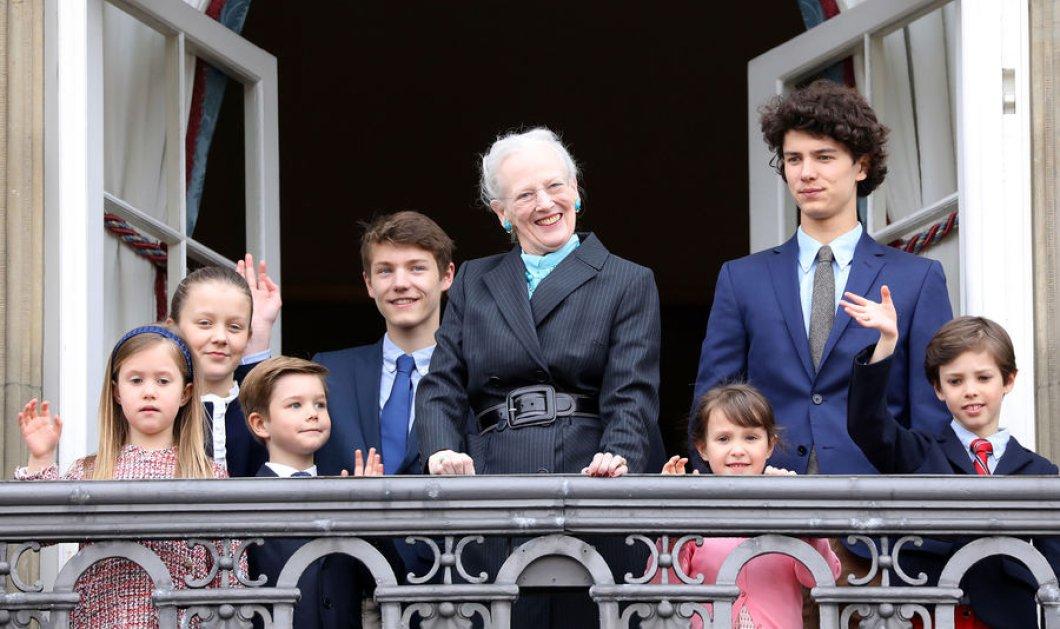 ΦΩΤΟ-ΒΙΝΤΕΟ: 2 μήνες μετά τον θάνατο του συζύγου της η Βασίλισσα της Δανίας, Μαργαρίτα, γιορτάζει τα γενέθλιά της με τα 8 εγγόνια της! - Κυρίως Φωτογραφία - Gallery - Video