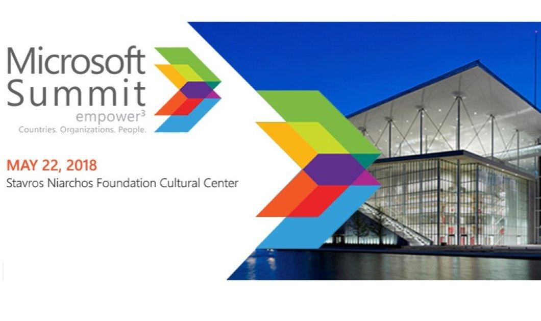 To 3o Microsoft Summit έρχεται στις22 Μαΐου-«Empower3: Countries, Organizations, People» - Κυρίως Φωτογραφία - Gallery - Video