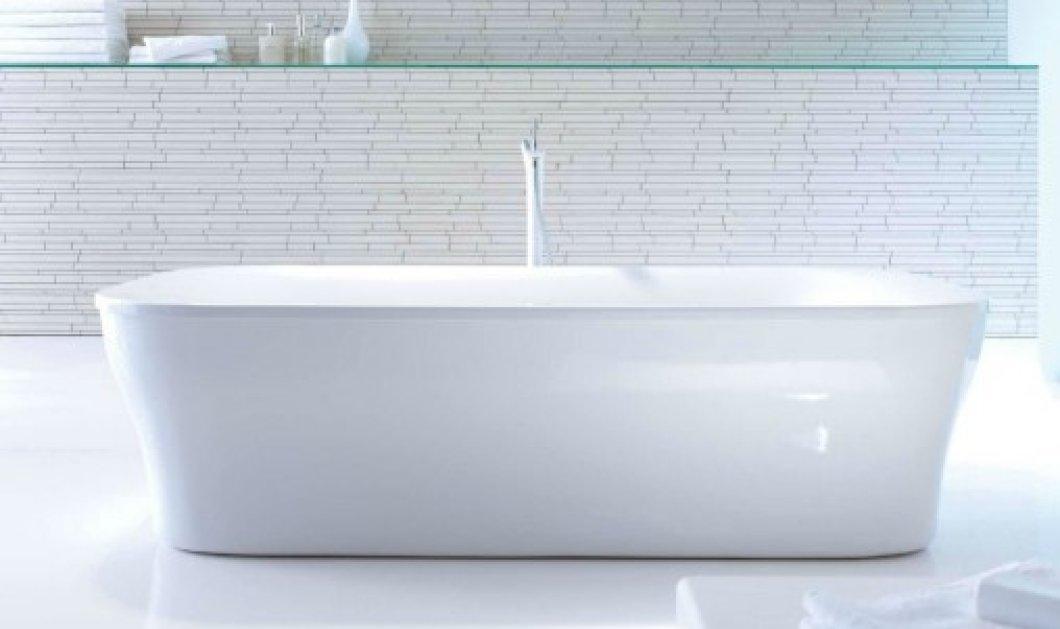 Θέλετε πεντακάθαρη μπανιέρα; Ο Σπύρος Σούλης σας προτείνει θαυματουργά tips! - Κυρίως Φωτογραφία - Gallery - Video