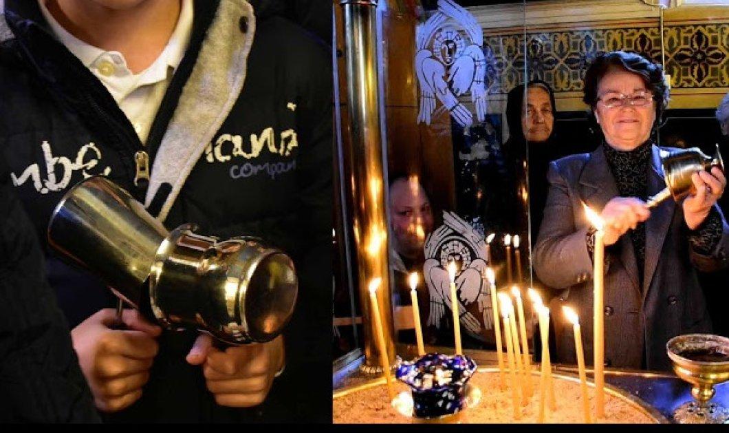 Δείτε φωτό: Με κατσαρόλες, μπρίκια και κουδούνια υποδέχθηκαν την πρώτη Ανάσταση (ΒΙΝΤΕΟ) - Κυρίως Φωτογραφία - Gallery - Video