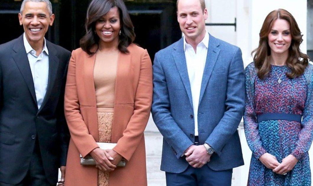 Οι Obama εύχονται για το βασιλικό μωρό με τον πιο απίστευτο τρόπο! Το... πιτζάμα πάρτι & η φωτό που ανέβασε η Michelle - Κυρίως Φωτογραφία - Gallery - Video