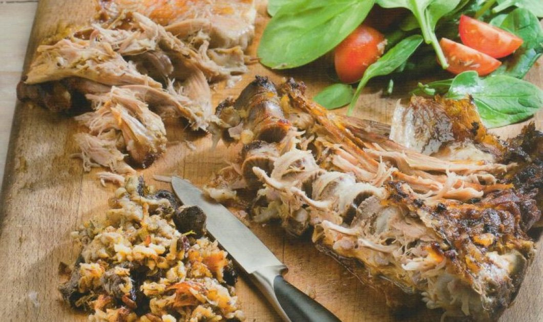 Μία πρωτότυπη & πεντανόστιμη συνταγή για το Πάσχα! Αρνί γεμιστό με ρύζι από την μοναδική Αργυρώ Μπαρμπαρίγου - Κυρίως Φωτογραφία - Gallery - Video