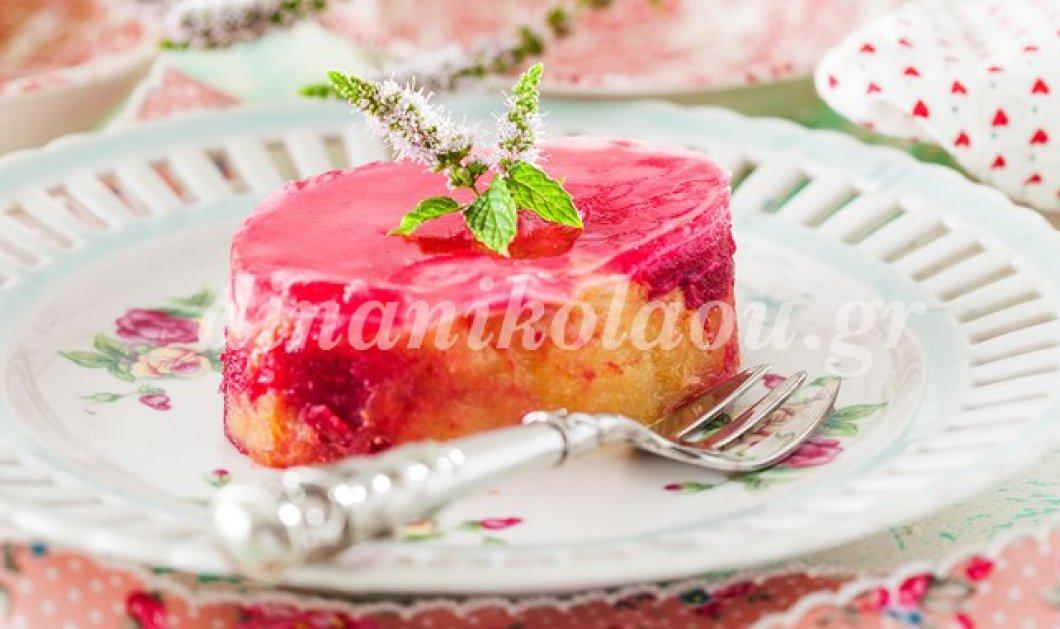 Μοναδικό! Η Ντίνα Νικολάου φτιάχνει πάστα με τσουρέκι και ζελέ τριαντάφυλλο - Κυρίως Φωτογραφία - Gallery - Video