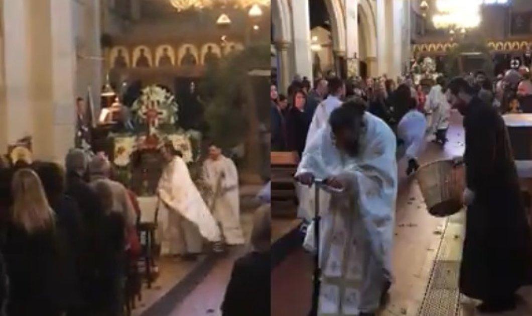 Ο παπάς ανεβηκε στο πατίνι & άρχισε να μοιράζει δάφνες- Η πιο πρωτότυπη Πρώτη Ανάσταση (ΒΙΝΤΕΟ) - Κυρίως Φωτογραφία - Gallery - Video