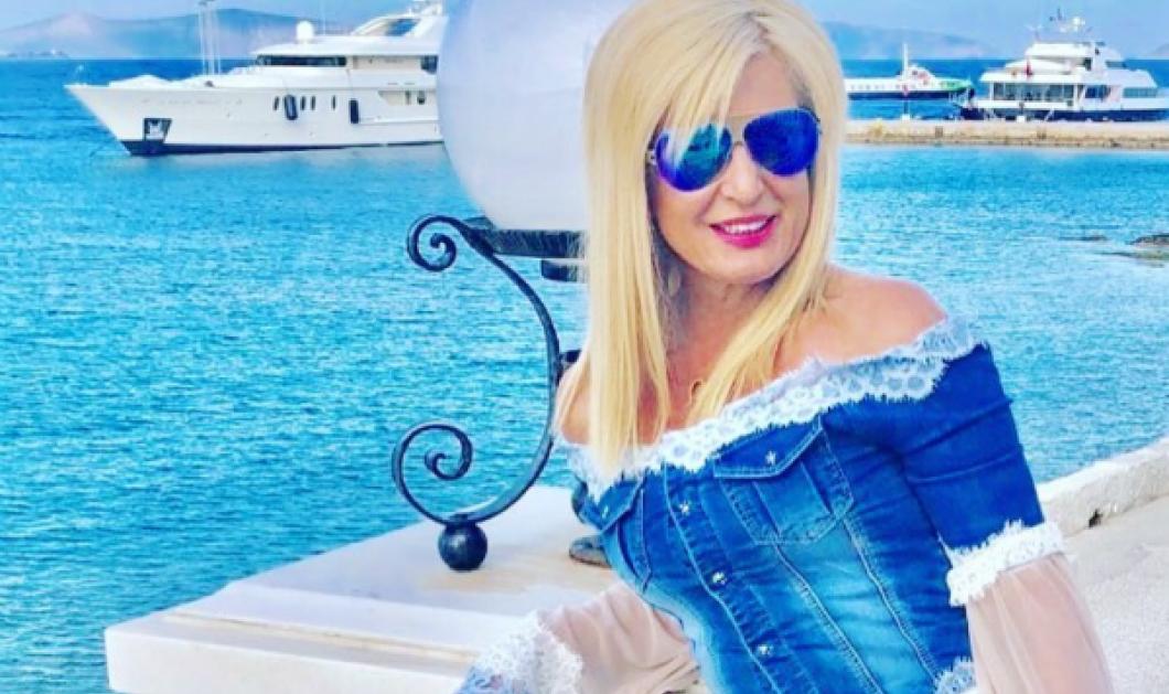 Η Mαρίνα Πατούλη με τα γαλάζια μοντελάκια της γιόρτασε σε Σπέτσες - Μαρούσι το Άγιο Πάσχα (ΦΩΤΟ) - Κυρίως Φωτογραφία - Gallery - Video