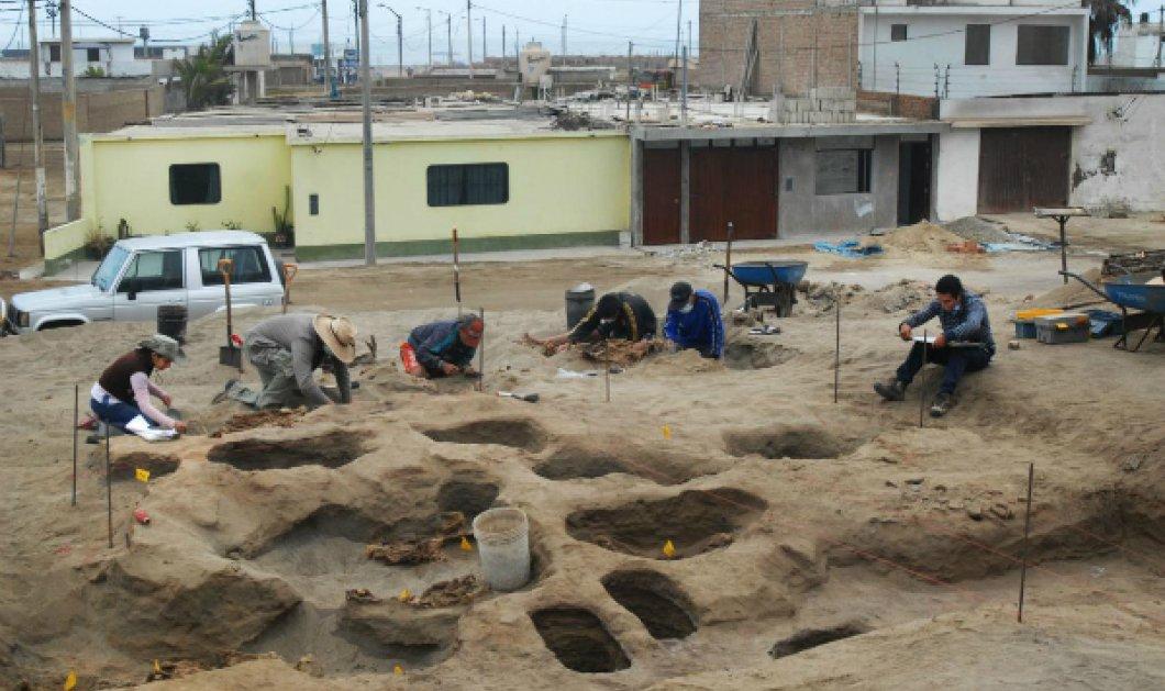 Περού: Ήρθε στο φως η μεγαλύτερη θυσία παιδιών - 140 σκελετοί ανηλίκων από 5 έως 14 ετών (ΦΩΤΟ) - Κυρίως Φωτογραφία - Gallery - Video
