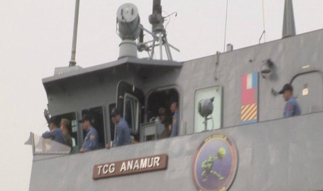 Δείτε πως ένα Τουρκικό πολεμικό πλοίο πέρασε από τον Ισθμό της Κορίνθου (ΦΩΤΟ - ΒΙΝΤΕΟ) - Κυρίως Φωτογραφία - Gallery - Video