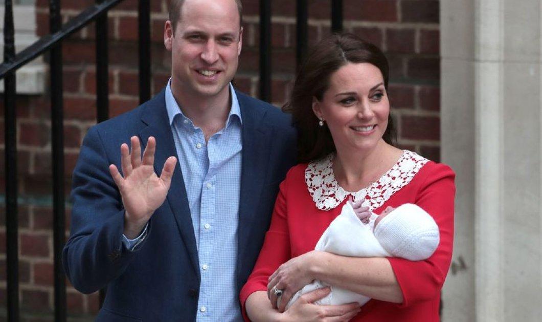 Οι φωτό των γαλαζοαίματων στο μαιευτήριο: Ο Πρίγκιπας Γουίλιαμ συνοδεύει τα παιδιά του να δουν το νεογέννητο αδελφάκι τους - Κυρίως Φωτογραφία - Gallery - Video
