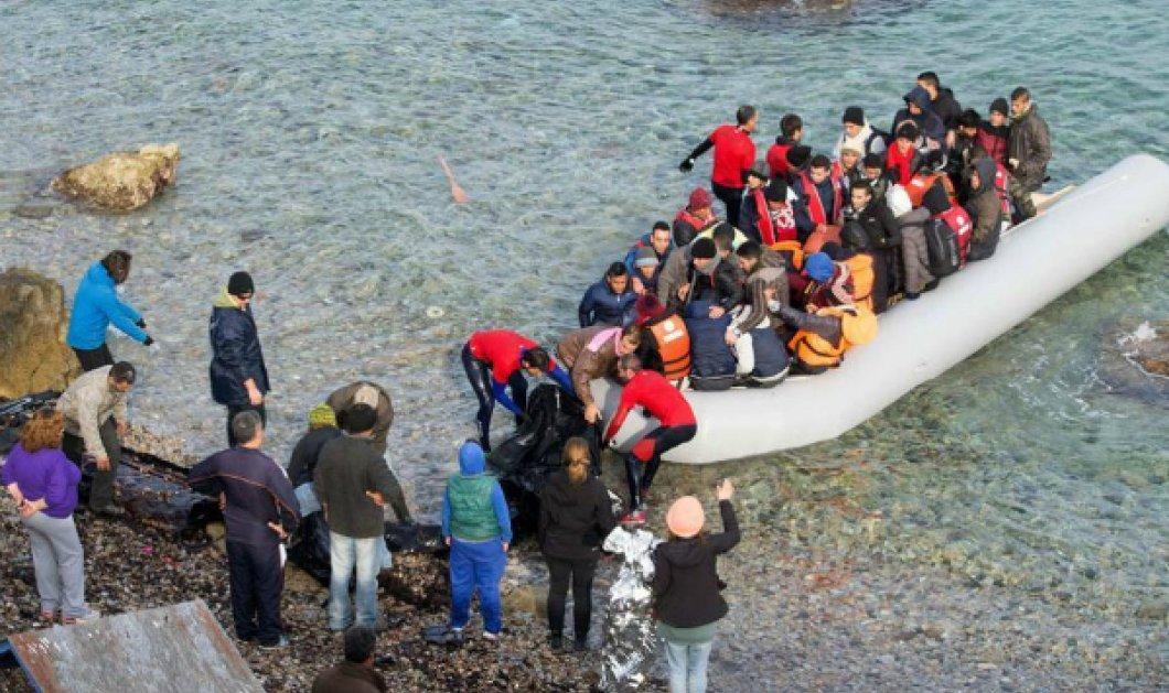 Ούτε 1 ούτε 2: 523 οι πρόσφυγες που μπήκαν στην Ελλάδα τις τελευταίες μέρες  - Κυρίως Φωτογραφία - Gallery - Video