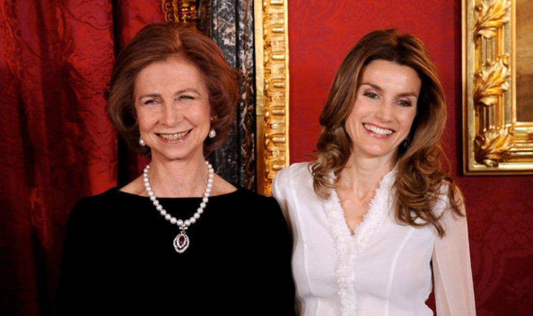 Τον γύρο του κόσμου κάνει αυτό το βίντεο: Η Βασίλισσα Λετίθια μαλώνει με την «Ελληνίδα» πεθερά της, Σοφία... - Κυρίως Φωτογραφία - Gallery - Video
