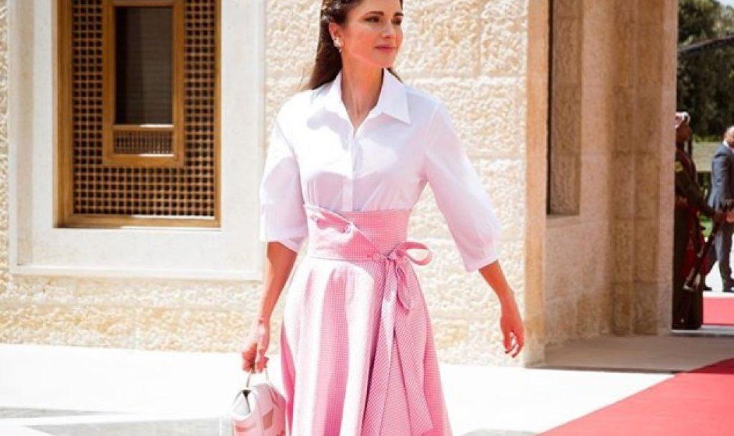 Η φούστα που ξετρέλανε την Ράνια της Ιορδανίας   την Μαριάννα Βαρδινογιάννη  (ΦΩΤΟ) - 2382b3ef37c