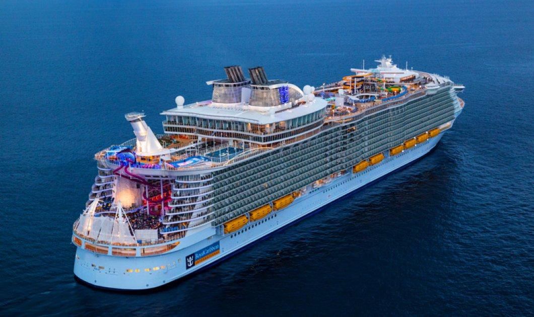 «Symphony of the seas»: Καρέ - καρέ το μεγαλύτερο κρουαζιερόπλοιο στον κόσμο (ΒΙΝΤΕΟ)  - Κυρίως Φωτογραφία - Gallery - Video