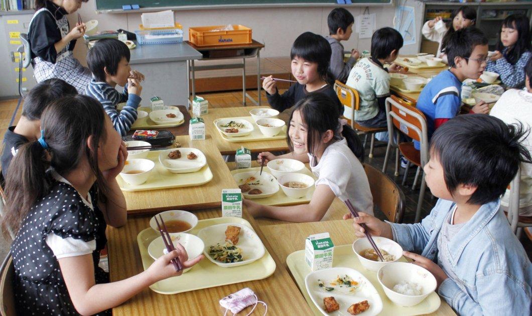 Δείτε αυτό το βίντεο με το πως τρώνε τα μικρά παιδιά στην Ιαπωνία & θα αισθανθείτε ντροπή για τον υπόλοιπο κόσμο - Κυρίως Φωτογραφία - Gallery - Video