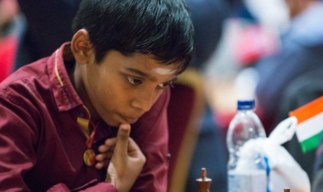 Στην Ελλάδα ο 12χρονος Ινδός Παγκόσμιος Πρωταθλητής σκακιού- Κατέπληξε στο 23ο Διεθνές Σκακιστικό Τουρνουά (ΦΩΤΟ-ΒΙΝΤΕΟ) - Κυρίως Φωτογραφία - Gallery - Video