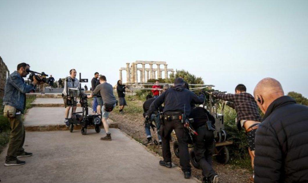 Ξεκίνησαν τα γυρίσματα της υπερπαραγωγής του BBC στο Σούνιο- Δειτε τις πρώτες εικόνες (ΒΙΝΤΕΟ-ΦΩΤΟ) - Κυρίως Φωτογραφία - Gallery - Video